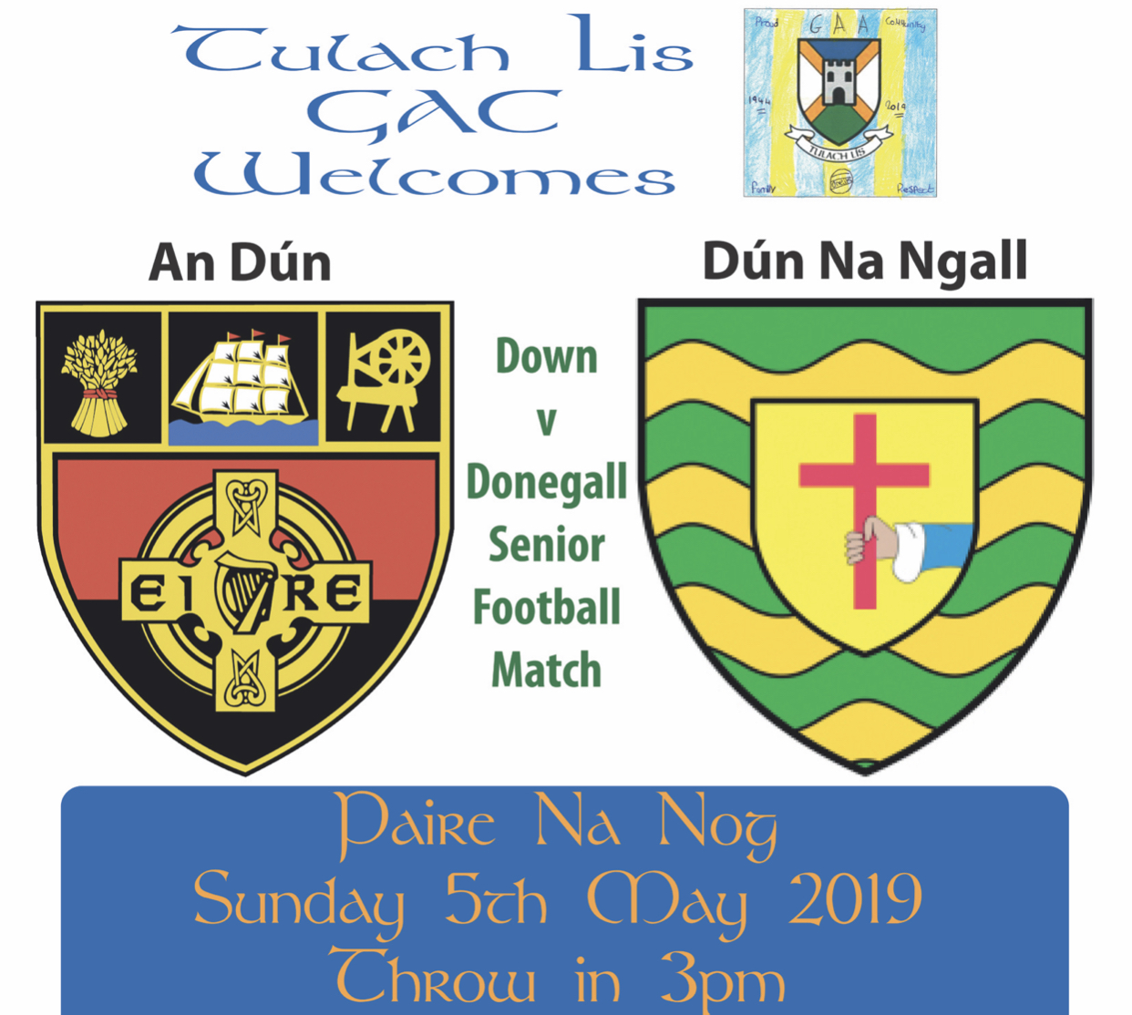 Down v Donegal at Tullylish